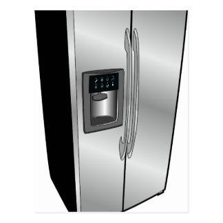 Refrigerator Icon Postcard