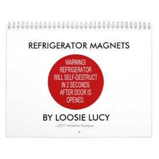 REFRIGERATOR MAGNETS CALENDAR