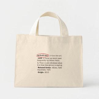 Refudiate Tote Bag