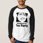 Refudiate la fiesta del té playeras