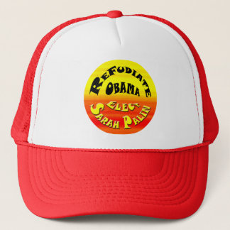 Refudiate Obama! Trucker Hat