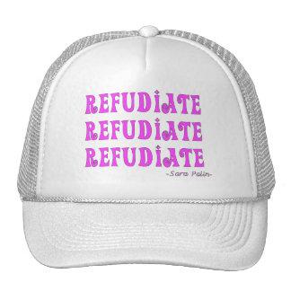 """Refudiate"" Sara Palin's Made Up Word Gifts Hat"