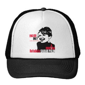 Refudiate Sarah Cap Trucker Hat
