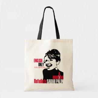 Refudiate Sarah Tote Bag