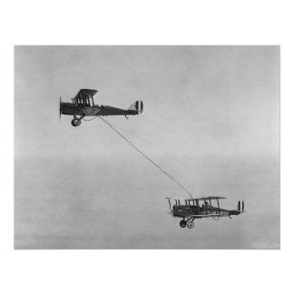 Refueling in 1923 poster