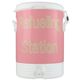 refueling station cooler