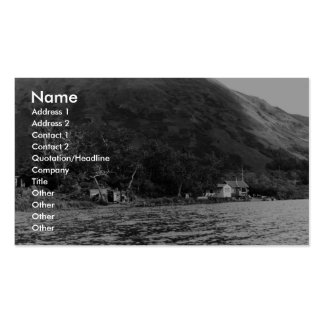 Refuge Buildings on Karluk Lake Business Card