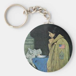 Refugee Thanksgiving Keychain