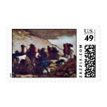 Refugees By Daumier Honoré Stamps