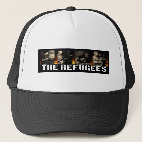 Refugees - On Fire Trucker Hat