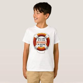 Refugees Welcome Boy's T-Shirt
