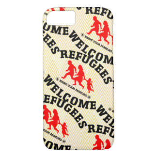 Refugees Welcome Bring Your Family iPhone 8/7 Case