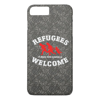 Refugees Welcome Bring Your Family iPhone 8 Plus/7 Plus Case
