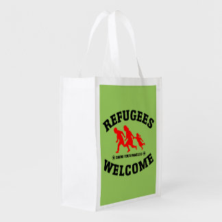 Refugees Welcome Bring Your Family Market Totes