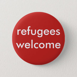 refugees welcome button