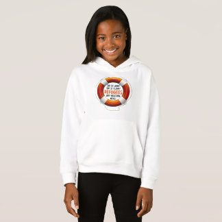 Refugees Welcome Girl's Hoodie