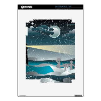 Refugiados en el barco de papel 3 iPad 2 skin