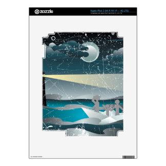 Refugiados en el barco de papel 3 iPad 3 pegatina skin