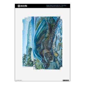 Refugio de Honu iPad 3 Pegatina Skin