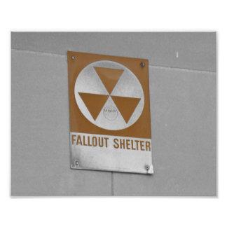 Refugio de polvillo radiactivo fotografía