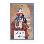 Refugio para cuatro tarjetas postales