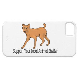 Refugios para animales de la ayuda iPhone 5 carcasa