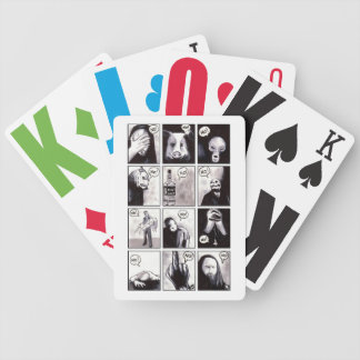 Refuse Bicycle Playing Cards