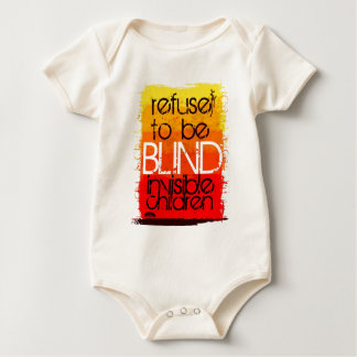 Refuse to be Blind Baby Bodysuit