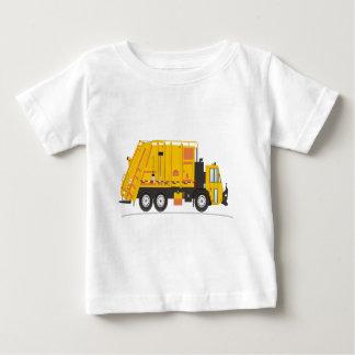 Refuse Truck Yellow Baby T-Shirt