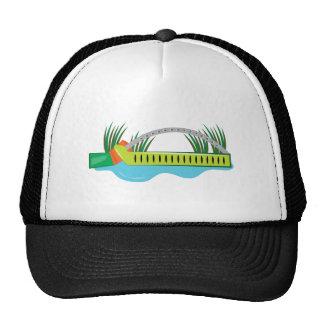 Regadera del césped gorras de camionero
