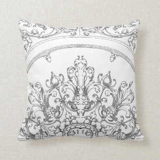 Regal Acorns and Scroll Throw Pillows