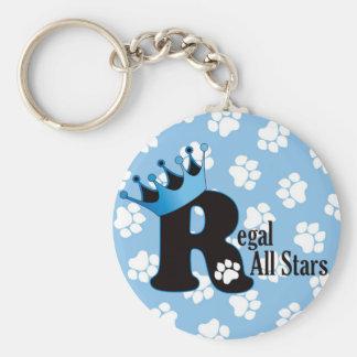 Regal All Stars Paw Print Keychain