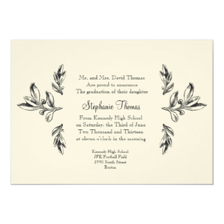 "Regal Announcement or Invitation 5"" X 7"" Invitation Card"