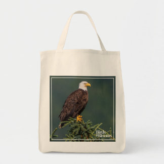 Regal Bald Eagle Tote Bag