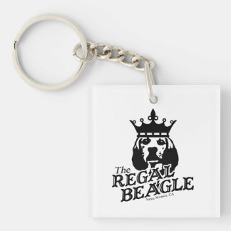 Regal Beagle Keychain