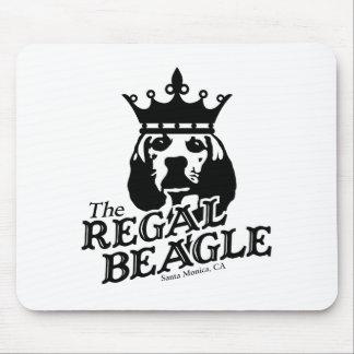 Regal Beagle Mousepads