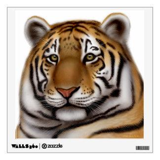 Regal Bengal Tiger Wall Decal