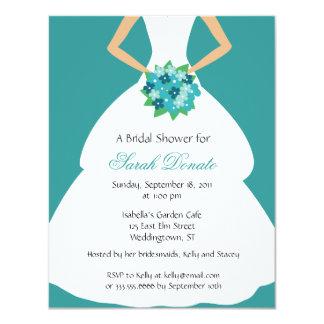 Regal Bridal Shower Invitation