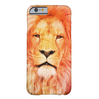 Regal Colourized Lion Barely There iPhone 6 Case