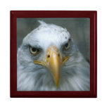 Regal Eagle Face Jewelry Boxes