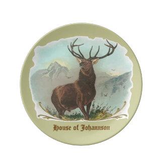 Regal Elk Customizable Dinner Plate