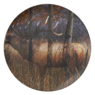 Regal Elk Dinner Plate