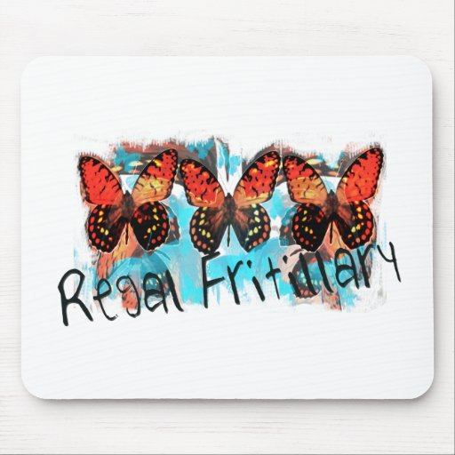 regal fritillary mouse pads