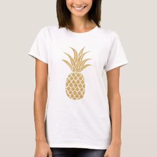 01db5c052dbe Gold Pineapple T-Shirts - T-Shirt Design & Printing | Zazzle