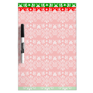 Regal Layered Green & Red Dry-Erase Board
