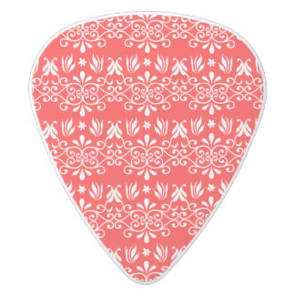 Regal Layered Green & Red White Delrin Guitar Pick