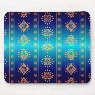 Regal Lazuli Abstract Art Mousepad