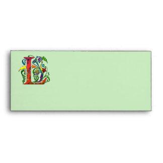 REGAL Letter L Envelope