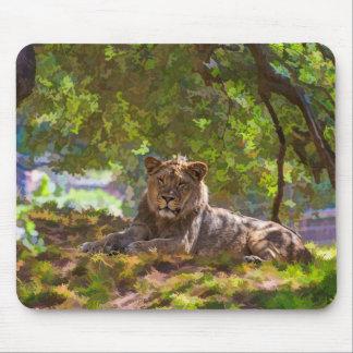 REGAL LION MOUSE PAD