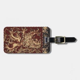 Regal Lion Tapestry Bag Tag